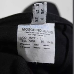 Moschino Skirts - MOSCHINO JEANS LACE UP DOUBLE SLIT A LINE SIZE 8